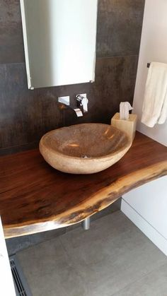 Wood Countertops Drawbacks and Advantage - Fine Woodworking Tips For You Bathroom Countertops, Wood Countertops, Bathroom Renos, Small Bathroom, Bathroom Black, Bathroom Showers, Design Bathroom, Bathroom Renovation Cost, Wood Vanity