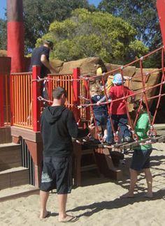 Pirate playground at Palm Beach/Currumbin