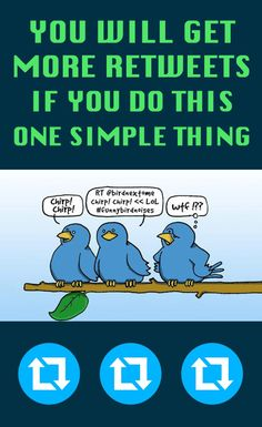 You Will Get More #Retweets If You Do This ONE Simple Thing #twitter #socialmedia