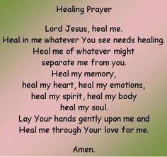 Prayer for healing     https://www.facebook.com/photo.php?fbid=10151478701268091