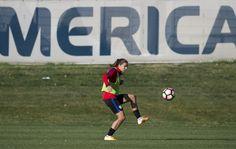 Gallery: WNT Training Ahead of Switzerland Match Up - U.S. Soccer