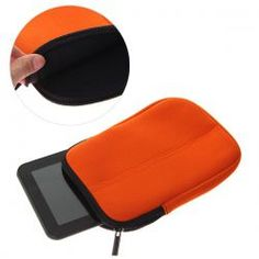 $1.70 Soft Neoprene Case Bag for 7 inch Tablet PC with Zippered Closed