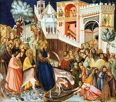 Entry Into Jerusalem Pietro Lorenzetti c1320