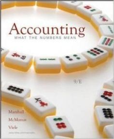 Textbook Solutions Manual for Accounting What the Numbers Mean 9th Edition Marshall INSTANT DOWNLOAD