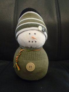 Cute! Sock Snowman                                                                                                                                                                                 Plus