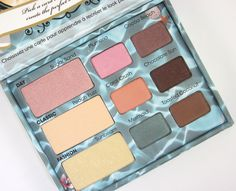 New eyeshadow palette from the Too Faced Summer Collection for 2012!