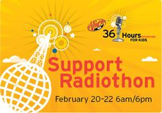 Alice's 36 Hours for Kids is Feb. 20-22. Listen from 6 a.m. to 6 p.m. to hear hopeful stories from kids treated at Children's Colorado!