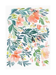 Click to see 'Dancing Peonies' on Minted.com