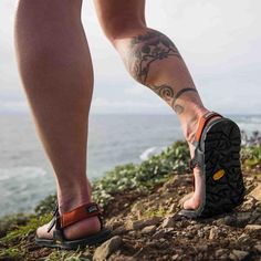 From trail to river to everything in between, the Cairn is built for all adventures. Our new, super-secure strap system and an exclusive sole design from Vibram®, mean you can go further and freer than ever before. Minimalist Shoes, Strap Heels, Hot Cars, Footwear, Adventure, Sandals, How To Wear, Ideas, Shopping