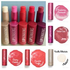 Lip Bon Bons omg these are the great!!     I'm not really a lipstick girl so these are like chapstick but so much better for your lips!! Plus they're lightly tinted!! Youniqueproducts.com/ ginamariepopolano