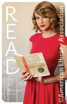 Celebrity READ Posters - Reading Promotion - Taylor Swift