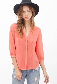 Accordion Pleated Blouse