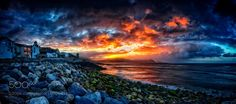 Dawn Rips The Sky Apart by TheNarratographer. Please Like http://fb.me/go4photos and Follow @go4fotos Thank You. :-)