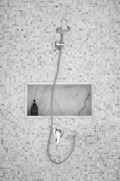Amazon.com - EZ-NICHES - USA - 11in X 16in - Ready Tile Niche Preformed Bathroom Recess It Shower Shampoo Shelf - Bathroom Trays
