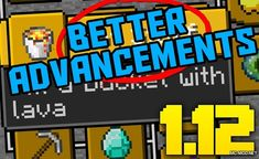 Better Advancements Mod improves and modifies some features of the Advancements interface, which appear in Minecraft version As you may already know, in previous versions of Minecraft we have a. Minecraft Forge, Minecraft Mods