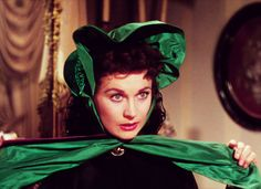Vivian Leigh as Scarlett O'Hara in Gone With the Wind