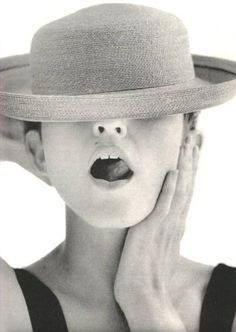 1987 - Photo shoot for the tour program of Who's That Girl Tour by Herb Ritts