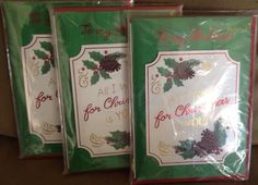LOT of 12 New Sealed PAPYRUS Christmas To Husband Greeting Cards #Papyrus #Christmas