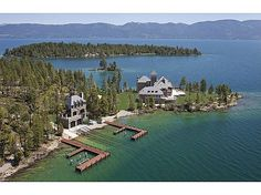 One tycoon is selling two of America's priciest mansions montana aerial