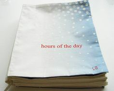 'hours of the day' by louise bourgeois