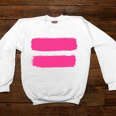Equality -- Women's Sweatshirt/Long-Sleeve – Feminist Apparel