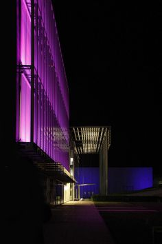 iGuzzini headquarters #light #lighting #iGuzzini #RGB                                                                                                                                                     More