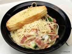 AWESOME create-your-own pasta options at Disney World's Art of Animation Resort