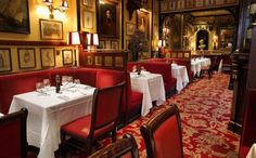The Rules: The oldest restaurant in London from 1798!