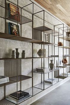 I love this shelf designed by Christopher Ward. #interiordesign #design #shelf #light