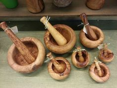 Mortal & Pestles Mortar And Pestle, Home And Living, Wood, Woodwind Instrument, Timber Wood, Trees