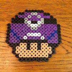 Perler Bead Evil Minion Mario Mushroom by Alyssa's Adorable Crafts