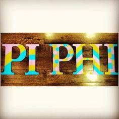 Pi Phi crafting #piphi #pibetaphi