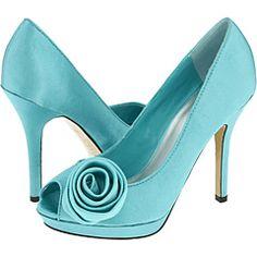 Love. #wedding #aqua #shoes