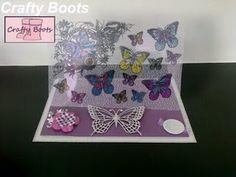 Acetate card :) Butterflies