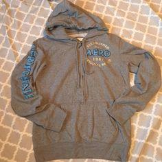 Aeropostale hoodie Cozy fleece lined half zip Aeropostale hoodie Aeropostale Tops Sweatshirts & Hoodies