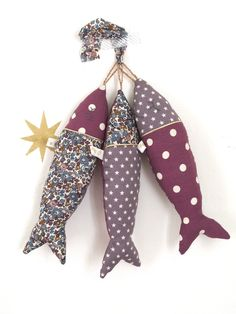 Inspiration couture : déco poissons