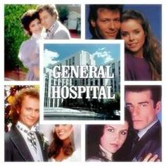 1980s General Hospital collage