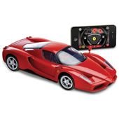 The iPhone Remote Controlled Enzo Ferrari. DID YOU KNOW THERE IS AN IPHONE REMOTE CONTROL CAR?? I DIDN'T!