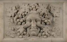 Vine carved tablet