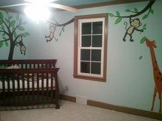 Jungle Baby Room!!