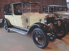Rolls-Royce Twenty Production 1922-1929, only 2940 were made