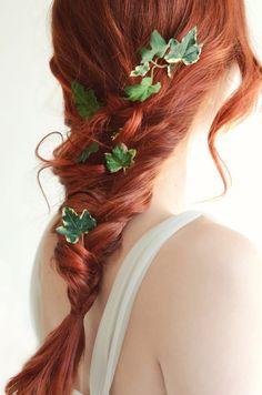 Horquillas de hiedra las horquillas cabello por gardensofwhimsy