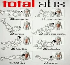Ab workouts for anyone who is deciding on a 6 pack