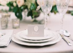 classic wax seal place cards   Lydia Robins Hendrix