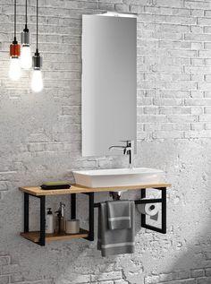 Bathroom Design Luxury, Bathroom Design Small, Modern Bathroom, Home Interior Design, Iron Furniture, Steel Furniture, Home Decor Furniture, Furniture Design, Small Toilet Room