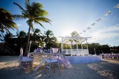 Begin your new life together in a stunning beach ceremony at Dreams Puerto Aventuras!