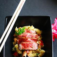 Kobe Cream Rotini #recipe via My Tartare http://www.yummly.com/recipe/Kobe-Cream-Rotini-1372660