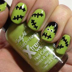 Halloween Nail Art :)