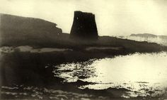 Royal Academician Norman Ackroyd is famous for his atmospheric monochrome etchings of the British landscape. Contemporary Landscape, Abstract Landscape, Norman Ackroyd, Gravure, Light In The Dark, New Art, Printmaking, Illustration Art, Etchings