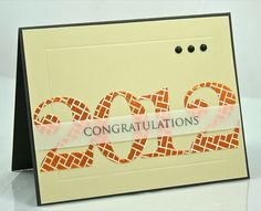 great grad card - very clean and simple (CAS)